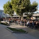 La foule à l'entrée du Festival du Jeu Vidéo 2010