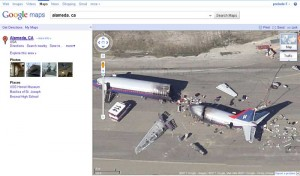 Google - Crash d'un avion