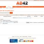 Régie publicitaire - AD42