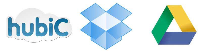 Comparatif HubiC / Google Drive / Dropbox (mise à jour)