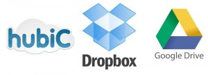 HubiC - DropBox - Google Drive