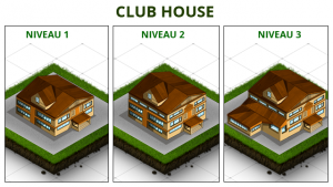Golf - Club House niveau 1 à 3